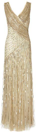 Ariella Juliet Sequin Long Dress