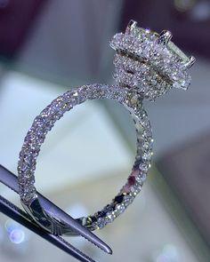 55 Best Under Halo Engagement Ring Images Engagement