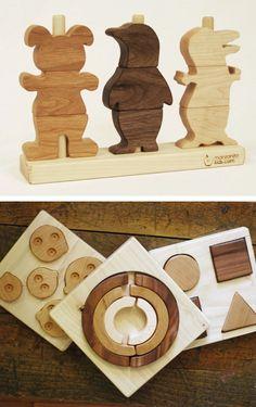 Pretty wood toys by Manzanita | http://toyspark.blogspot.com