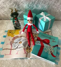 When the Mrs finds out you've been to the strippers and cane home with more than you bargained for! The Elf, Elf On The Shelf, Tiffany And Co Necklace, Blue Books, Christmas Decorations, Holiday Decor, Dog Houses, Tiffany Blue, Christmas 2019