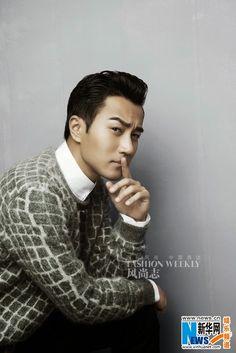 Hawick Lau covers 'Fashion Weekly' magazine | China Entertainment News