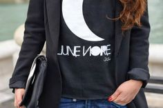 New Sweatshirt Très Chic! Lune Noire! http://blog.3chic.com/2013/12/lune-noire.html