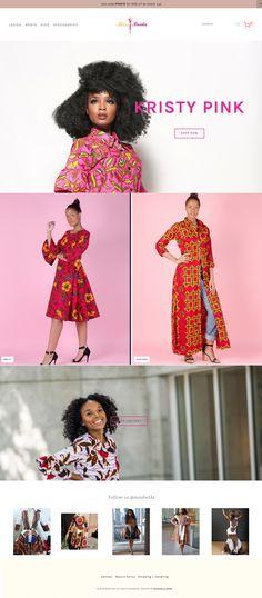 Miss Beida - African Fashion Ladies Gents, Site Design, Reign, Brand Identity, African Fashion, Ecommerce, Website, Lady, Unique