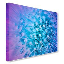 Sparkling Thistle Art Images, Vibrant, Canvas Art, Sparkle, Tapestry, Floral, Creative, Pictures, Color