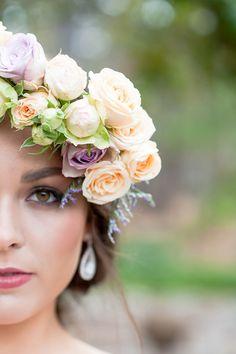 Watercolour-Garden-Wedding-Inspiration-Pastel-Flower-Crown-2