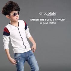 Exhibit the funk and vivacity in ur clothes only with ‪#‎ChocolateFamily‬ www.chocolatefamily.com ‪#‎FashionWithChocolate‬