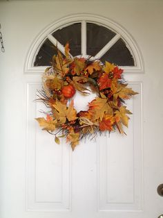 Fall reef for the front door