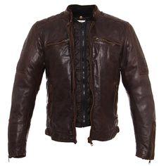 Blouson Helstons CRUISER RAG Blouson Moto Homme, Blouson Cuir, Veste, Mode  Homme, 64ebc136e6f