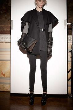 Love monochromatic layers.  Lanvin Pre-Fall 2013