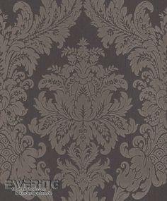 23 077451 cassata rasch textil dunkel blau textil - Rasch ornament tapete ...