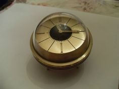LeCoultre Space Age Alarm Clock 8 Day Swiss