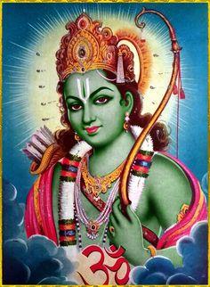 "✨ SHRI RAMACHANDRA ॐ ✨ Shri Ram said: ""It is My promise and duty to give all protection to one who surrenders unto Me without reservation. Hanuman Pics, Hanuman Images, Shri Hanuman, Shree Ram Photos, Shree Ram Images, Indian Artwork, Indian Folk Art, Kali Hindu, Hindu Art"