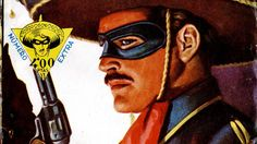 Fragmento de una portada de 'El Coyote' Salsa Party, Jonah Hex, Lone Ranger, Party Flyer, Deadpool, Blueberry, Superhero, Artwork, Fictional Characters