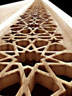 Moroccan patterns up close. #Architecture