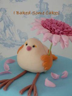 Bird and Gerbera
