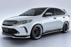If there's one thing we know, it is that the aftermarket car scene doesn't sleep on a new model, even if it. Toyota Harrier, Toyota Venza, St Anne, Toyota Cars, Motorcycle Bike, New Model, Exotic Cars, Bmw M5, Jeeps
