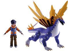 Invizimals - Pack de 2 mega-figuras, 24 x 17 cm (IMC Toys 30107): Amazon.es: Juguetes y juegos