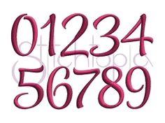 """Mayah Numbers Set - 1"""" 2"""" 3"""" 
