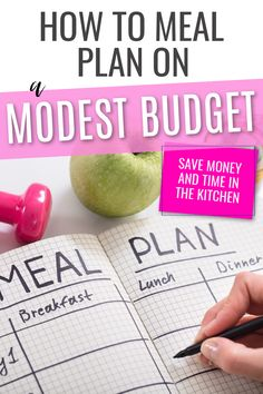 Learn how to meal plan for your family on a budget and still eat healthy meals that your kids will actually love #mealplanning #savingmoney #budgeting #budgetingtips #frugalliving Family Meal Planner, Family Meals, Healthy Foods To Eat, Healthy Eating, Healthy Recipes, Kitchen Time, Save Money On Groceries, Frugal Living Tips, Budgeting Tips