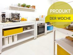 Küche in Modulen: Naber Concept Kitchen #News #Küche