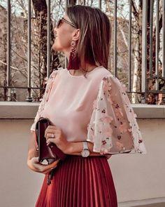 Красивые блузки 2018-2019 года для женщин, модные модели блузки, новинки, тенденции, фото