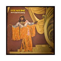 Glittered Geraldine Album @Vintage Vinyl @Flip Wilson @Geraldine