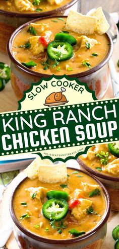 Slow Cooker King Ranch Chicken Soup is a crockpot meal perfect to kickstart the crocktober fest! This comfort food recipe is one of the best slow cooker recipes for the family! Save this pin. Best Crockpot Recipes, Best Soup Recipes, Slow Cooker Recipes, Yummy Recipes, King Ranch Chicken Casserole, Chicken Soup, Best Slow Cooker, Slow Cooker Soup, Family Meals