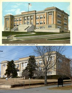 Lynchburg Then and Now - Garland-Rodes School | The Virginia School of the Arts, the most recent occupant of the former Garland-Rodes School building, recently announced that it is shutting down.