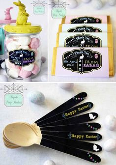 Bespoke Party Products Easter Party Ideas Giveaway via Kara's Party Ideas karaspartyideas.com