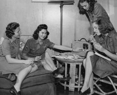 WASP (Women's Air Service Pilots) girls who inspired the book Dawn of a Thousand Nights.
