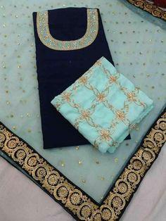 Nnyyyyccc Must Buy Punjabi Suits Designer Boutique, Boutique Suits, Indian Designer Suits, Indian Suits, Latest Punjabi Suits, Punjabi Salwar Suits, Punjabi Dress, Hand Embroidery Dress, Embroidery Suits
