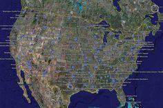 FEMA Camp Locations