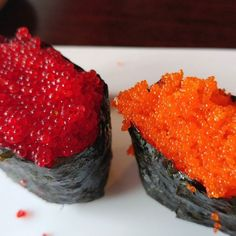 Date night! #sushi #tobiko #masago #pescatarian #fish #datenight