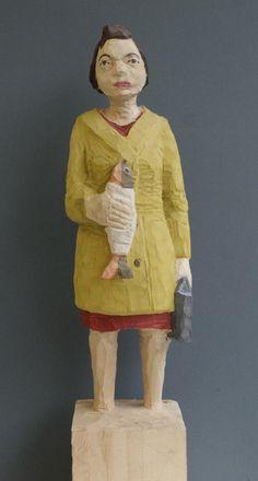 Kristina Fiand + Ernst Gross: Edeka Frau Nr. 947 - präsentiert von der galerie wagner + marks