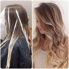 Are you going to balayage hair for the first time and know nothing about this technique? We've gathered everything you need to know about balayage, check! Ombre Hair Color, Hair Color Balayage, Hair Colors, Bayalage, Balayage Highlights, Ombré Hair, Blonde Hair, Blonde Ombre, Sombre Hair Brunette
