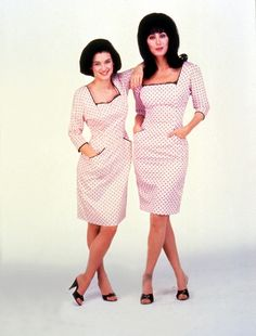 Love that dress! Cher and Winona Ryder in Mermaids