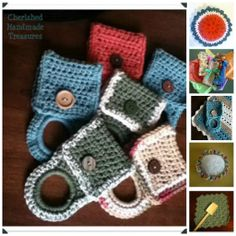 Crocheted Kitchen Collection--Cherished Handmade Treasures