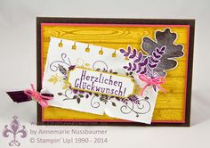 Stampin' Up! by First Hand Emotion: IN{K}SPIRE_me Challenge #68: Herbstfarben