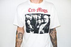 My Cro-Mags shirt. // Terry Richardson