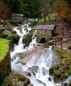 Would love to live where I could hear the water coming down the mountain. Penafiel Portugal, Douro Portugal, Places In Portugal, Visit Portugal, The Places Youll Go, Places To Visit, Beautiful Places, Beautiful Pictures, Portuguese Culture