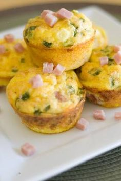 Quick baked egg muffin cups | Organize, save, and share all of your recipes from one location with @RecipeTin App App!  Find out more here: http://www.recipetinapp.com/