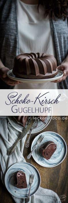 Schokoladen Kirsch Gugelhupf und der Trick für die perfekte Glasur