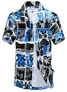 APTRO Men's Colorful Floral Printing Short Sleeved Summer Beach Shirt ST17 Blue S APTRO http://www.amazon.co.uk/dp/B010LD89NK/ref=cm_sw_r_pi_dp_U5oywb1JT10FJ