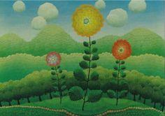 I Rabuzin Three flowers -63