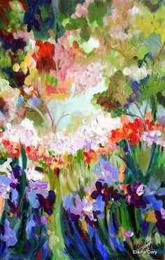 Large Original Landscape Painting 20 x 30 Fine by ElainesHeartsong, $325.00