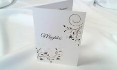 egyedi grafikus esküvői meghívó 078.1 Place Cards, Container, Place Card Holders