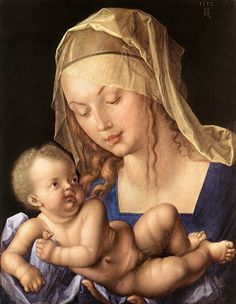 Alberto Durero, (1471-1528): María y el Niño.