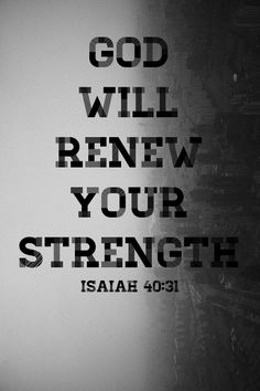 Do you need strength today? Sometimes it's easy to get down and discouraged when you're constantly looking at the circumstances of life. You may feel tired and weary from a long battle. But when you wait on the Lord, the Bible says your strength will be renewed. Waiting on the Lord means you're putting your trust and hope in Him. You're living with an attitude of faith and expectancy.