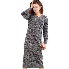 O Neck Long Vintage Dresses | Furrple