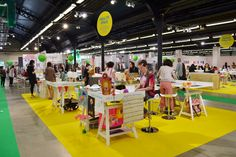Crea.tif space at Playtime Paris